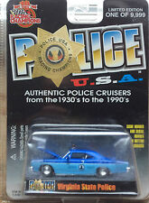 Virginia State Police Trooper 1968 Plymouth RACING CHAMPIONS FREE SHIPPING #77