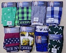 8 Pairs of Men New American Eagle Boxers, All Size XS