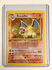 Pokemon CHARIZARD (Dracaufeu) 4/102 1st Edition FRENCH Base Set HOLO Rare MINT