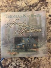 Family Traditions by Thomas Kinkade 2002, Hardcover book NEW with bookmark