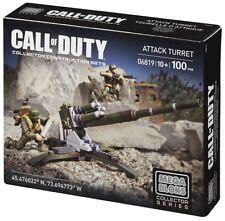 MEGA BLOKS COD 100 pcs SET 06819 Call of Duty Attack Turret Collectors Serires