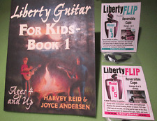 Easy Guitar for Kids – Liberty Guitar Package (w/ 2 capos)