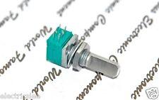 1pcs - ALPS RK09 50KA Volume Dual Potentiometer Half Shaft - RK09712200FS