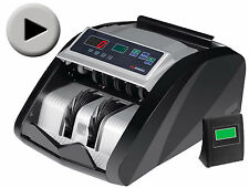 NEW! MONEY BILL CASH COUNTER BANK MACHINE CURRENCY COUNTING UV & MG COUNTERFEIT