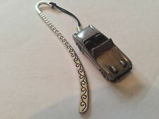 "Austin Healey ""Frog Eye Sprite""  FULL CAR on a Pattern bookmark with cord ref16"