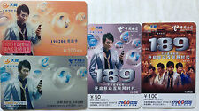 China Used Phone Reload Cards - 4 pcs 189 Series