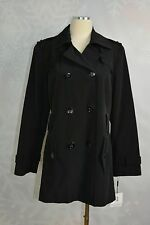 Calvin Klein size Petite L  Water Resistant Trench  Coat  NWD (missing belt)