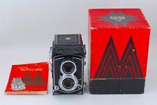 Near MINT Minolta Autocord TLR Camera w/ Rokkor 75mm f3.5 Lens from Japan a488