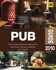 Pub Guide 2010 by AA Publishing Staff (2010, Paperback)