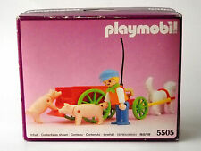 Vintage Playmobil 5505 ~ Boy w/ Pig Cart for the Victorian Mansion 5300 ~ NISB