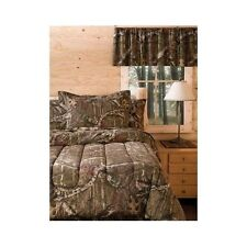 Bedding Comforter Set Mossy Oak Camouflage Twin Size Bed in a Bag Bedroom Sleep