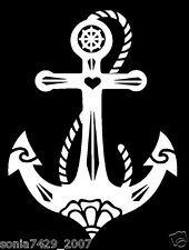 Anchor Vinyl Decal Sticker Car Boat Truck Window Nautical Cute