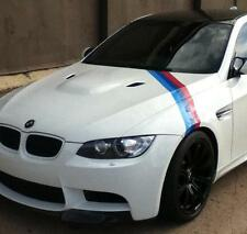 BMW M color stripes Rally side hood Racing Motorsport vinyl decal sticker