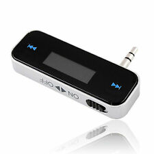 CAR MP3 WIRELESS FM RADIO TRASMETTITORE PER CELLULARE IPHONE 5 6 IPOD SAMSUNG HTC LG