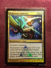 Righteous Authority Foil RTR Return to Ravnica   VO  -  MTG Magic (Mint/NM)