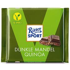 3 x Ritter Sport (Dark Almond Qunioa) = 300g / 0.7lbs **VEGAN**