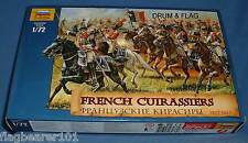 ZVEZDA 8037 NAPOLEONIC FRENCH CUIRASSIERS. 1:72 SCALE UNPAINTED FIGS X 19