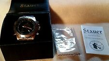 Stauer Compendium Hybrid Watch 19093 Compass Water Resist, Quartz Men's WORKING
