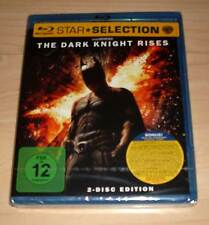 Blu-Ray Disc - Dark Knight Rises ( Batman 3 - 2012 ) 2 Disc Edition Neu OVP