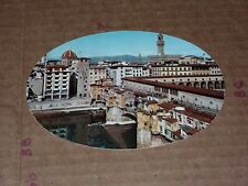firenze ponte vecchio italy Clock tower Roof Garden Pitti Palace Hotel Round