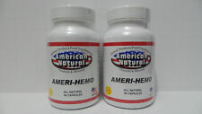 2 X 90 = 180 CAPSULES HEMORRHOIDS PAIN RELIEF SPIDER VEINS VARICOSE 100% NATURAL