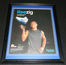 John Wall 2010 Reebok Reezig Framed 11x14 ORIGINAL Advertisement Wizards