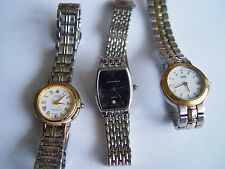 Lot of Three Watches, SEIKO, LOBOR Collection & JACLYN SMITH  (Not Working)