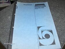 Bang & Olufsen Service Manual Beocord 5000 Type 4716