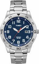 Timex TW2P61500, Men's Silvertone Expansion Watch, Date, Indiglo, TW2P615009J