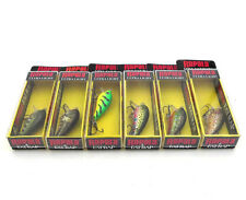 NIP 6PK RAPALA MINI FAT RAP MFR-3 LURES MIXED COLOR