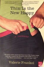 �� Thin Is the New Happy Valerie Frankel Book Exercise Diet Weight Chick-Lit ��