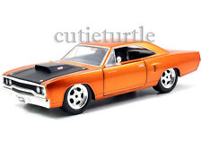 Jada Fast and Furious 7 Movie Dom's 1970 Plymouth Road Runner 1:24 97126 Copper