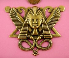 ANT BRASS LARGE EGYPTIAN WINGED PHAROAH-1 PC(s)