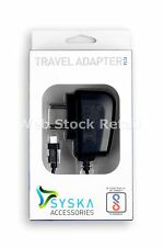 Syska 1A Micro Usb Charger for Smart Phones (6 Months Syska /India Warranty)