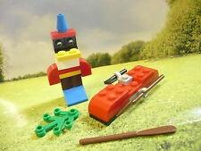 255/03  Lego®  Western Wild West  Indianer zubehör Kanu und Materpfahl  w. Bild