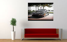 BLACK HONDA NSX NEW GIANT LARGE ART PRINT POSTER PICTURE WALL