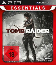 Playstation 3 Spiel: Tomb Raider PS-3 ESSENTIALS Neu & OVP