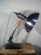 UpCycled Vintage/Retro Heat Lamp Adjustable Industrial/Steampunk Desk/Spot Light