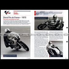 #gp06.149 ★ GRAND PRIX DE FRANCE 1973 : JARNO SAARINEN ★ Fiche Moto MotoGP