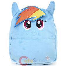 "My Little Pony Rainbow Dash Plush School Backpack 12"" Small Bag with Ear"