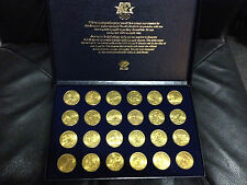 NEW 1984 Los Angeles Games of 23rd Olympiad Transit Token Coin Olympics Set Case