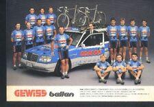 Team GEWISS BALLAN Cyclisme Cycling ciclismo radsport MORENO ARGENTIN bjarneRIIS