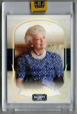 BARBARA BUSH 08 DONRUSS CELEBRITY CUTS AUTO AUTOGRAPH CARD #25/25!