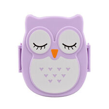 Owl Lunch Box Food Container Storage Box Portable Bento Bag Organizer Box