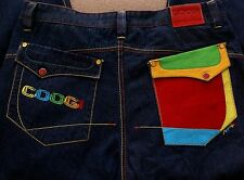 COOGI Men's Jeans Style Australian Multi Color Designs Men Size 40-34