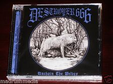 Destroyer 666: Unchain The Wolves CD 2015 Hells Headbangers Records HELLS152 NEW
