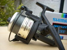 From REBE REELS: 1x baitrunner Shimano 4500 Freespool, with box, EXCELLENT