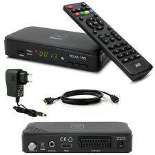 HDTV HD FULL Digital Sat Receiver OPTICUM AX150 AX 150 HDMI DVB-S2 1080p USB S60