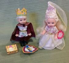Barbie Kelly Club *Princess Kelly #24596 & Prince Tommy #24597 1999 Display Only