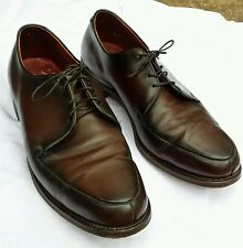 Vintage Crosby Square Air-Ride Walk-Aire Oxblood Leather Oxford Dress Shoes10E